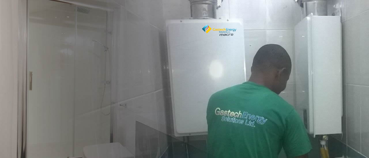 Installation of Gas Water Heater